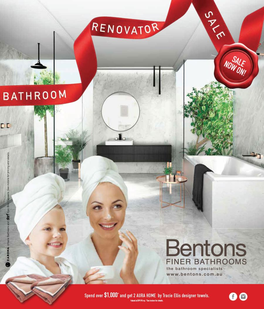 Benton's Bathroom Renovator Sale Catalogue