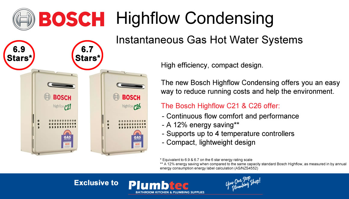 Bosch Highflow Hot Water Systems